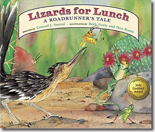 Lizards for Lunch — A Roadrunner's Tale  (Soft Cover)